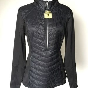 Champion Womens Black Jacket Duo Dry Reflective